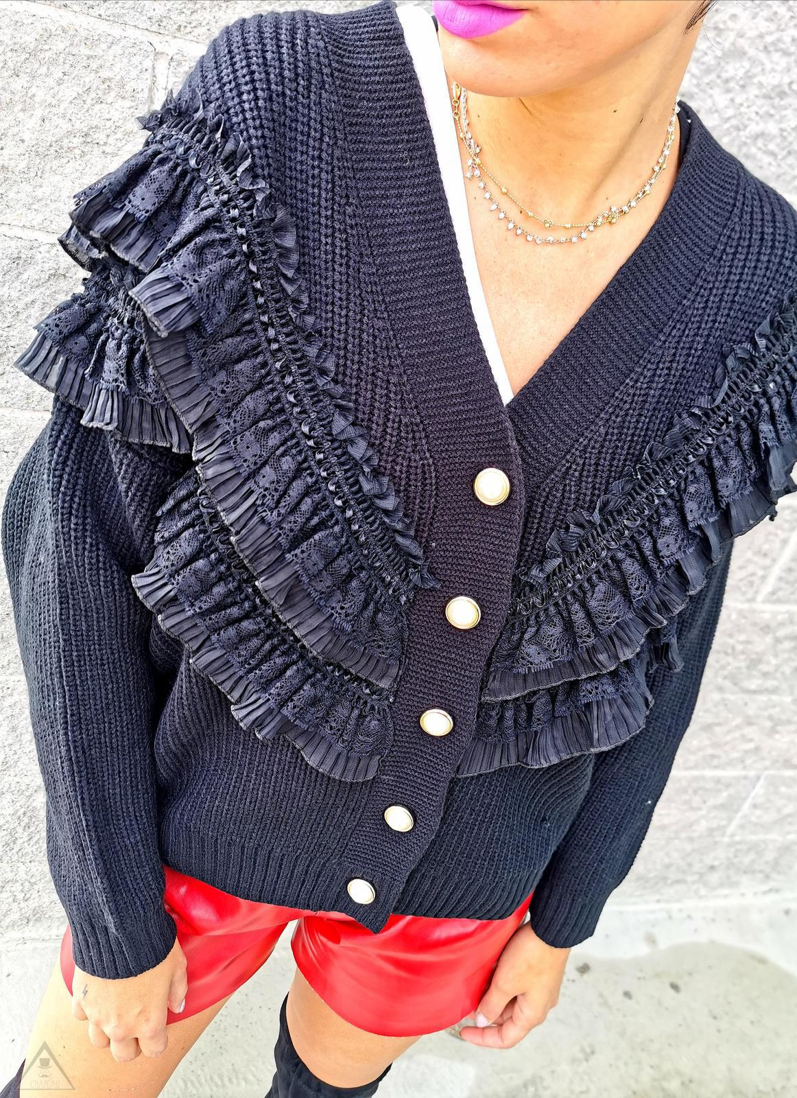 Maglione Vintage Rouches