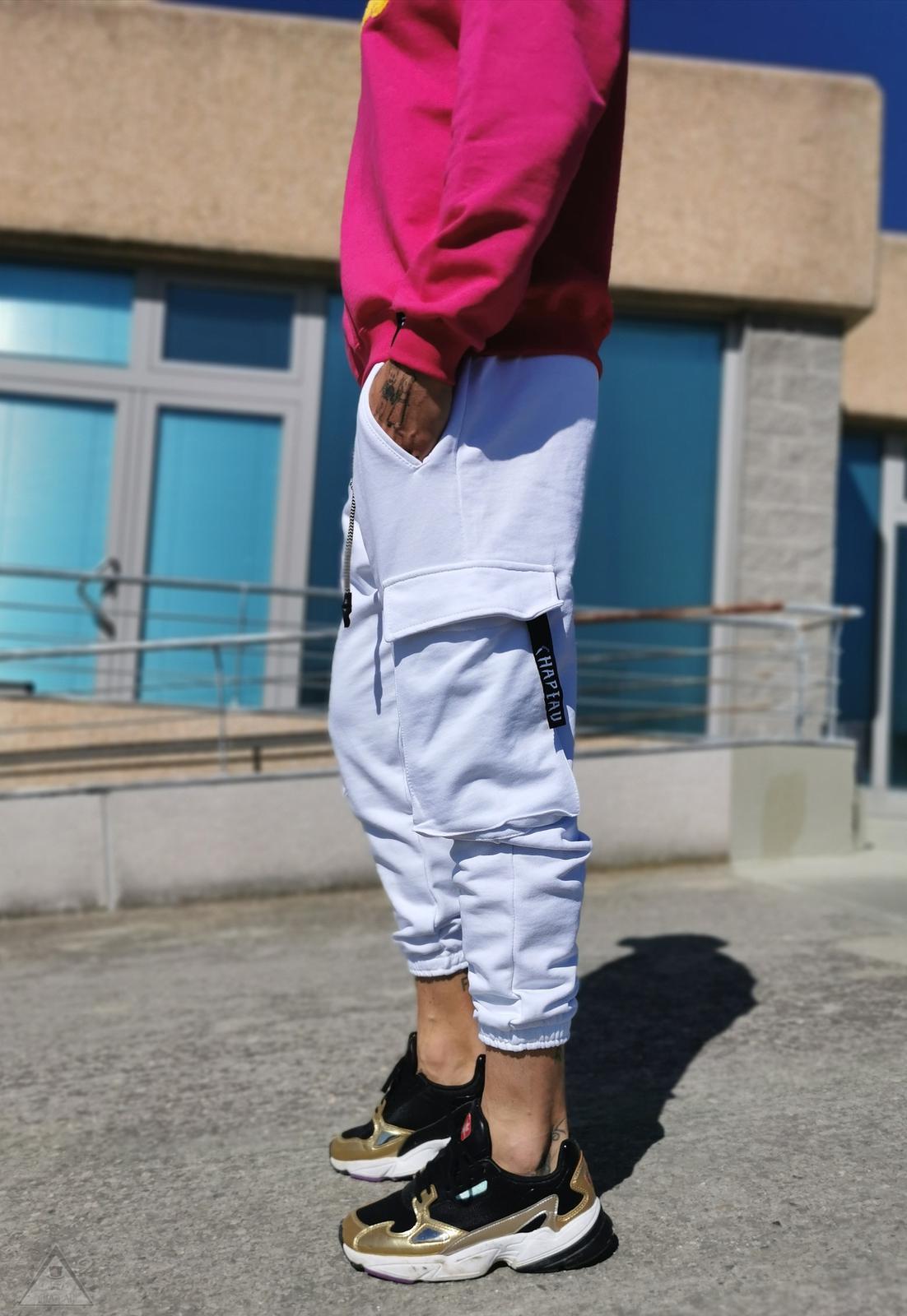 Panta  Cargo  white