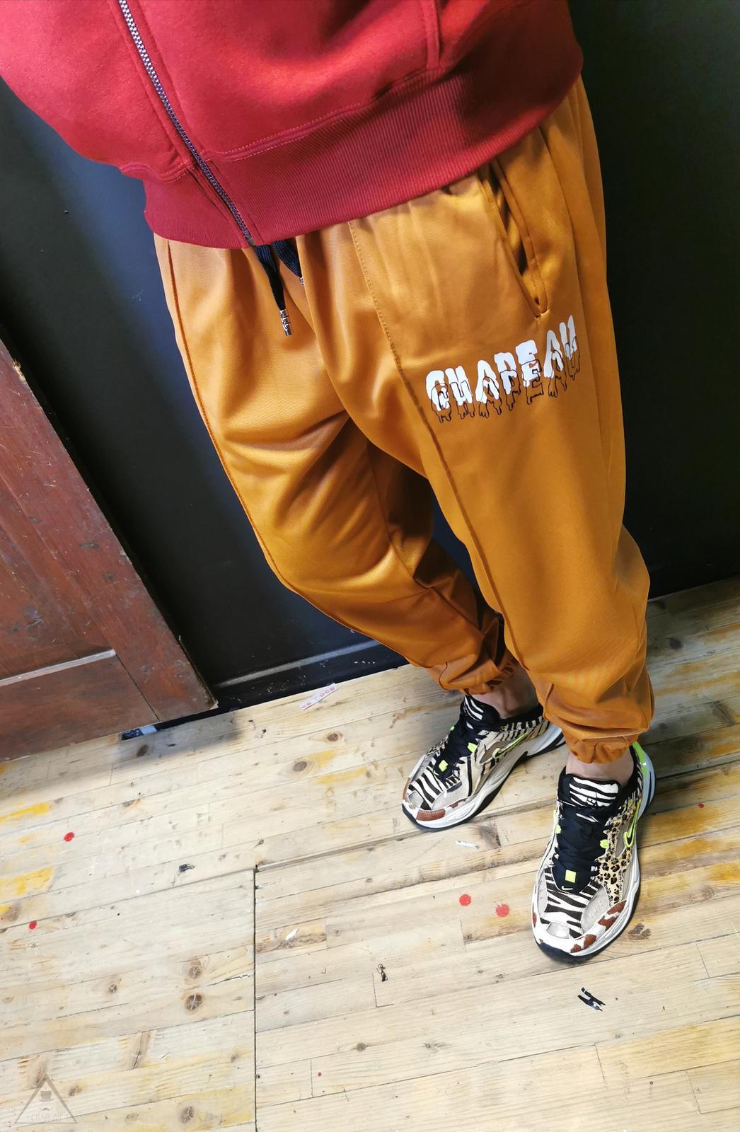 Pantalone Acetato Senape