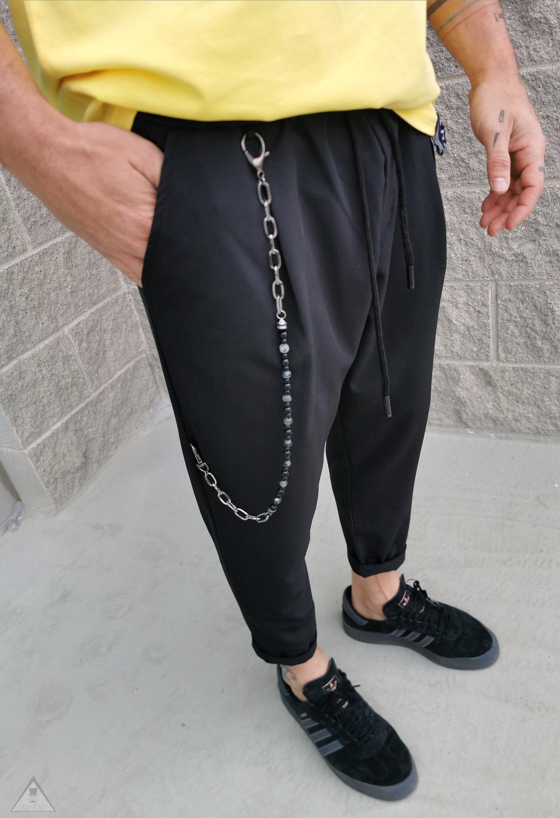 Pantalone Baggy Black