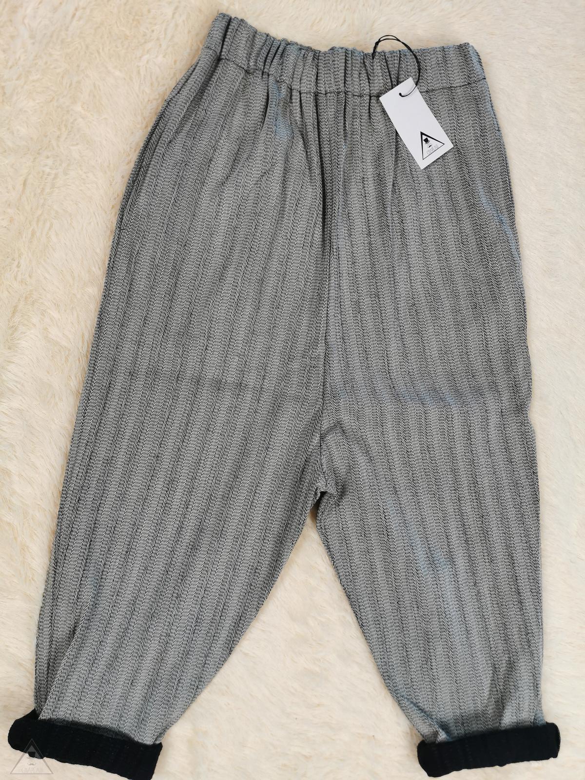 Pantalone cavallo basso Spiga