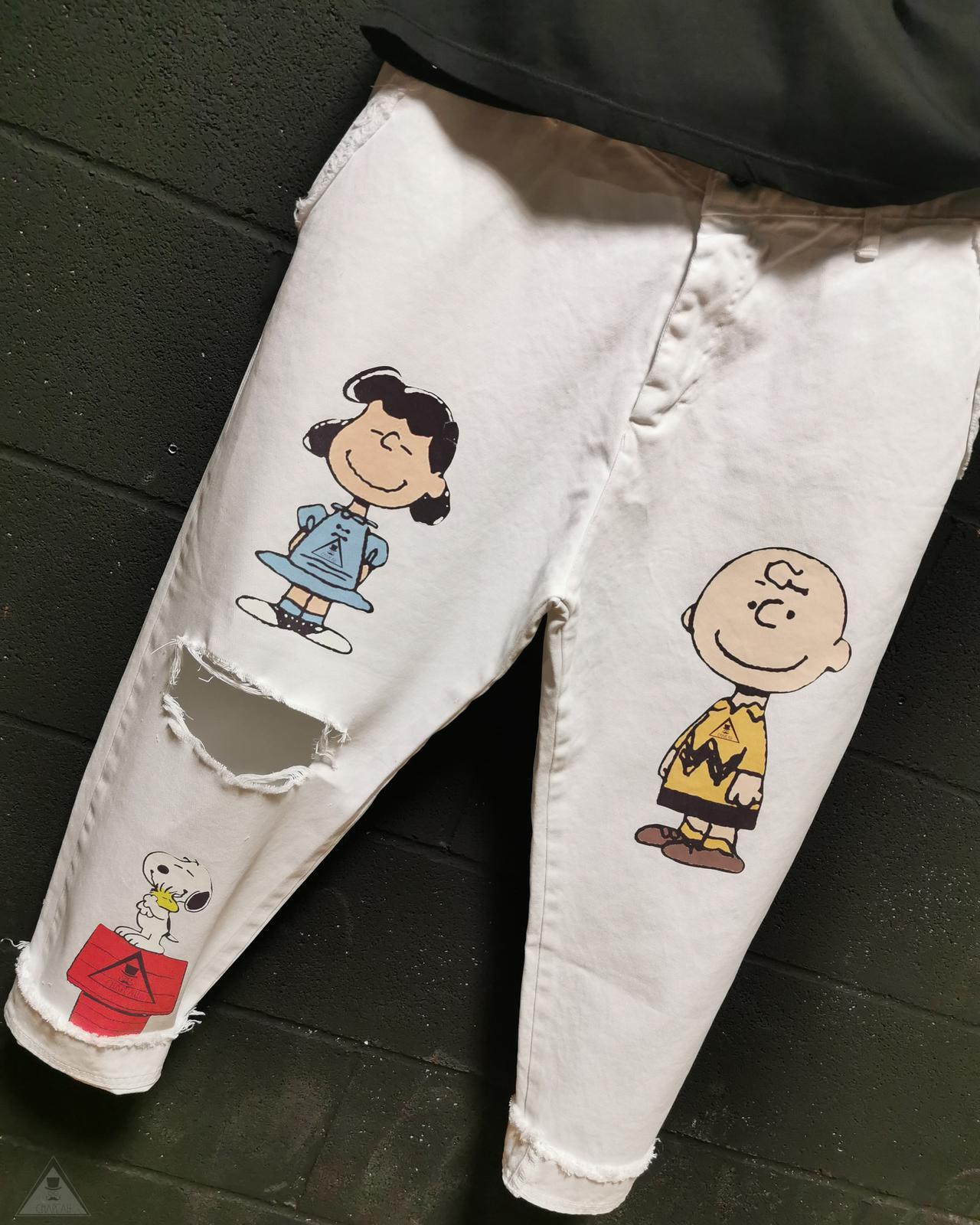 Pantalone Charlie White