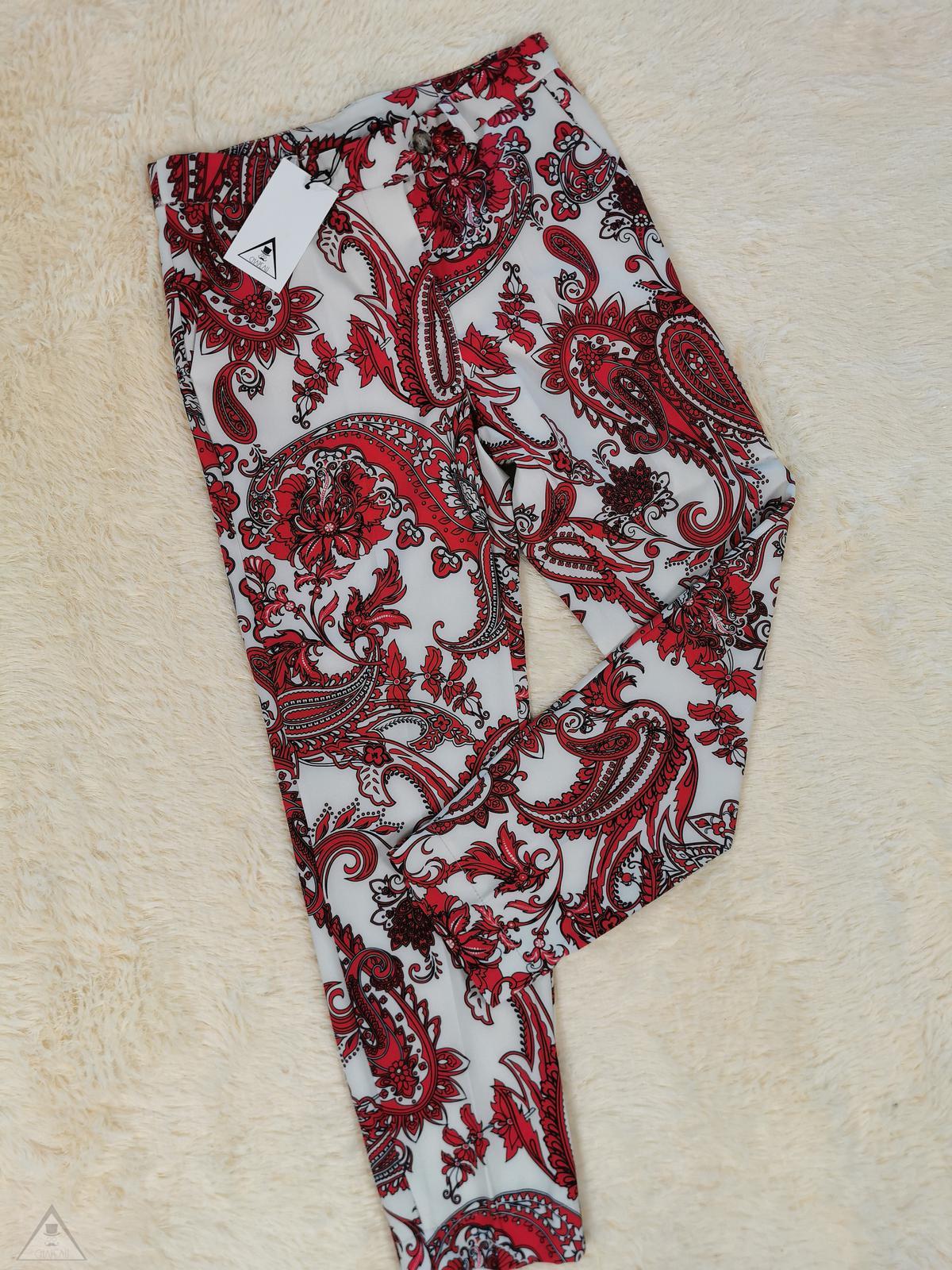 Pantalone Damasco Red