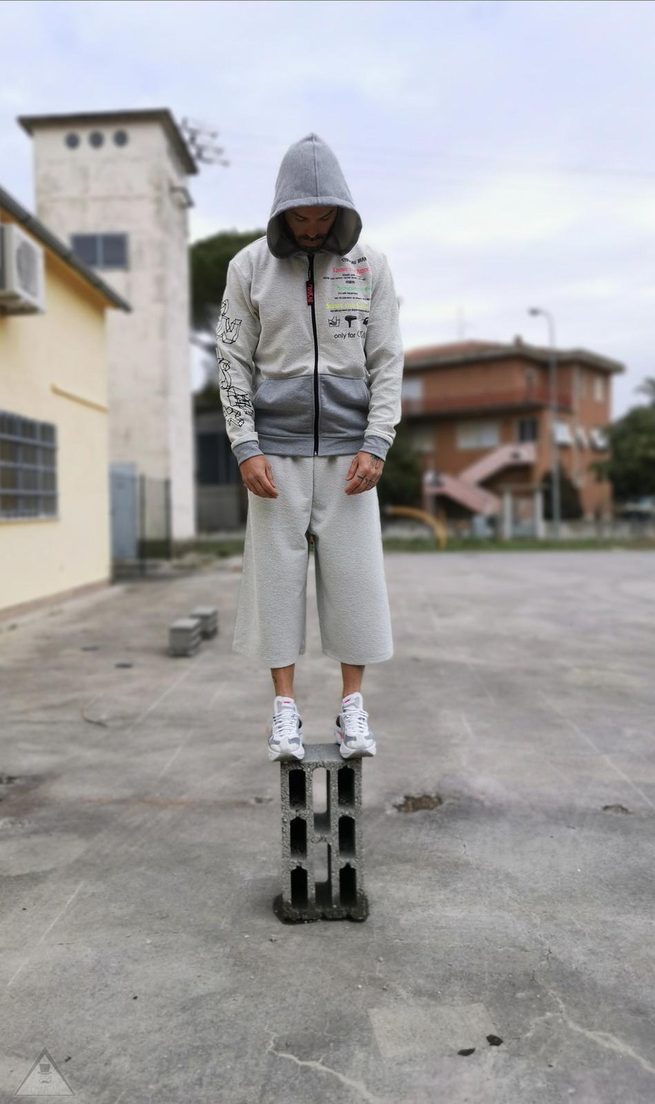 Pantalone Giappo Grigio