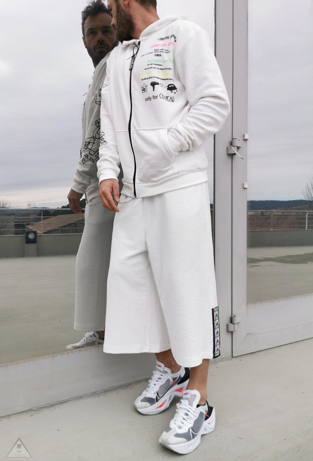 Pantalone Giappo Bianco