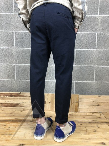 Pantalone Grezzo Blu