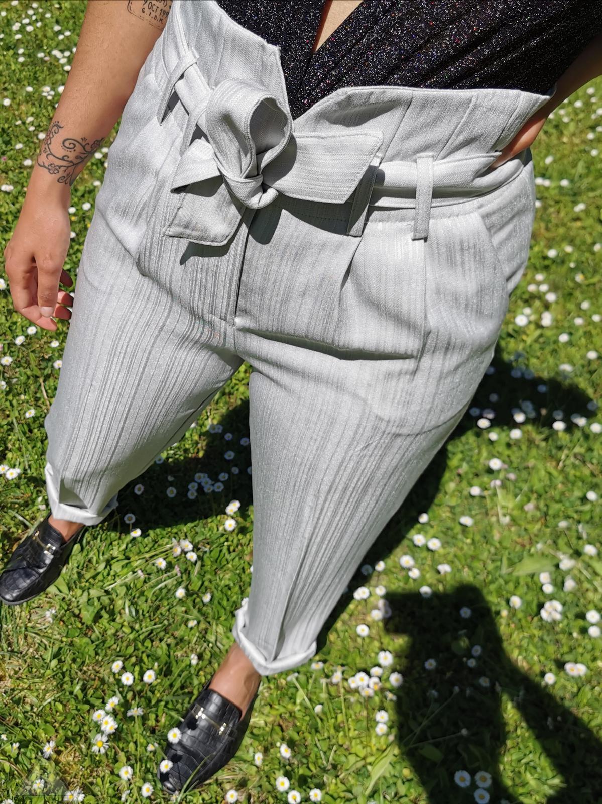 Pantalone Ice Gessato