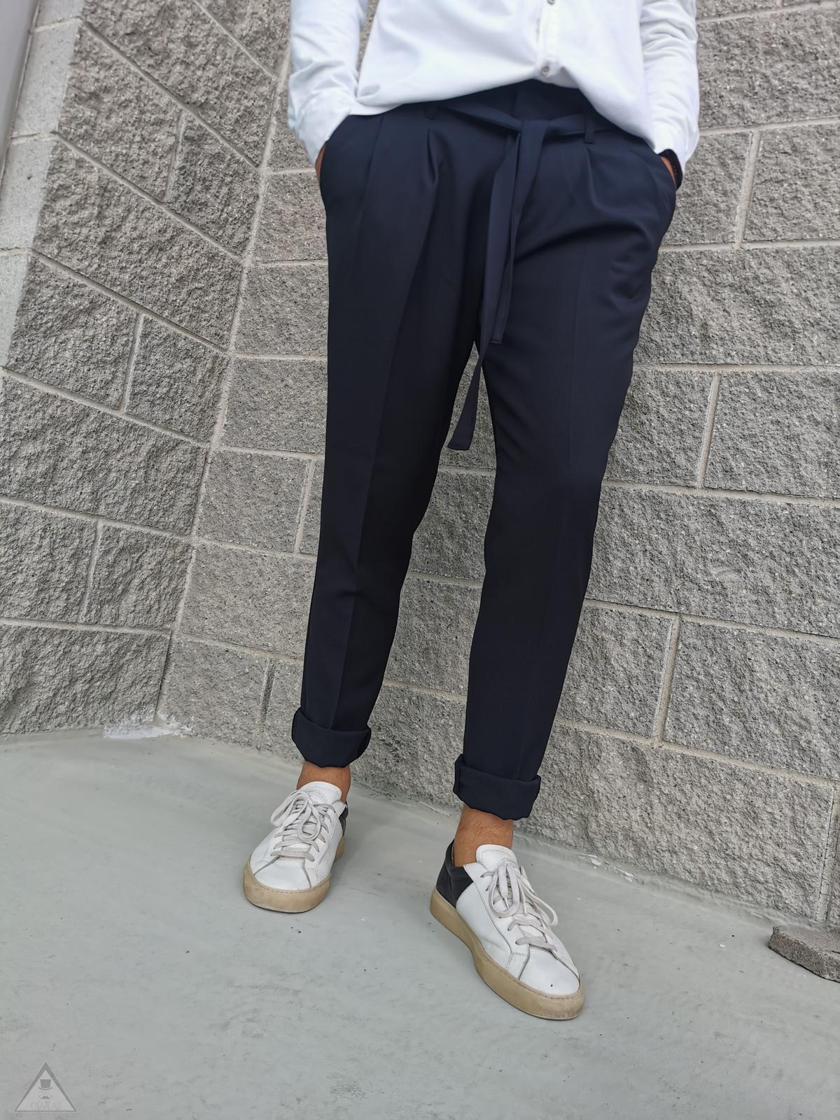 Pantalone Laccio nero