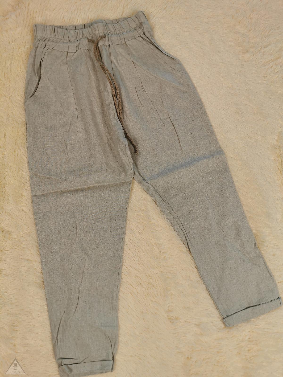 Pantalone Lino Corda