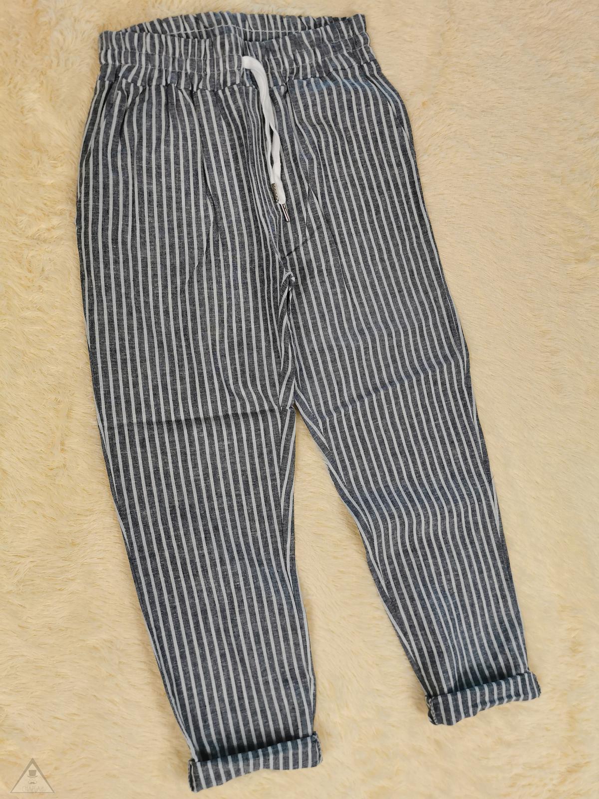 Pantalone lino marinaio