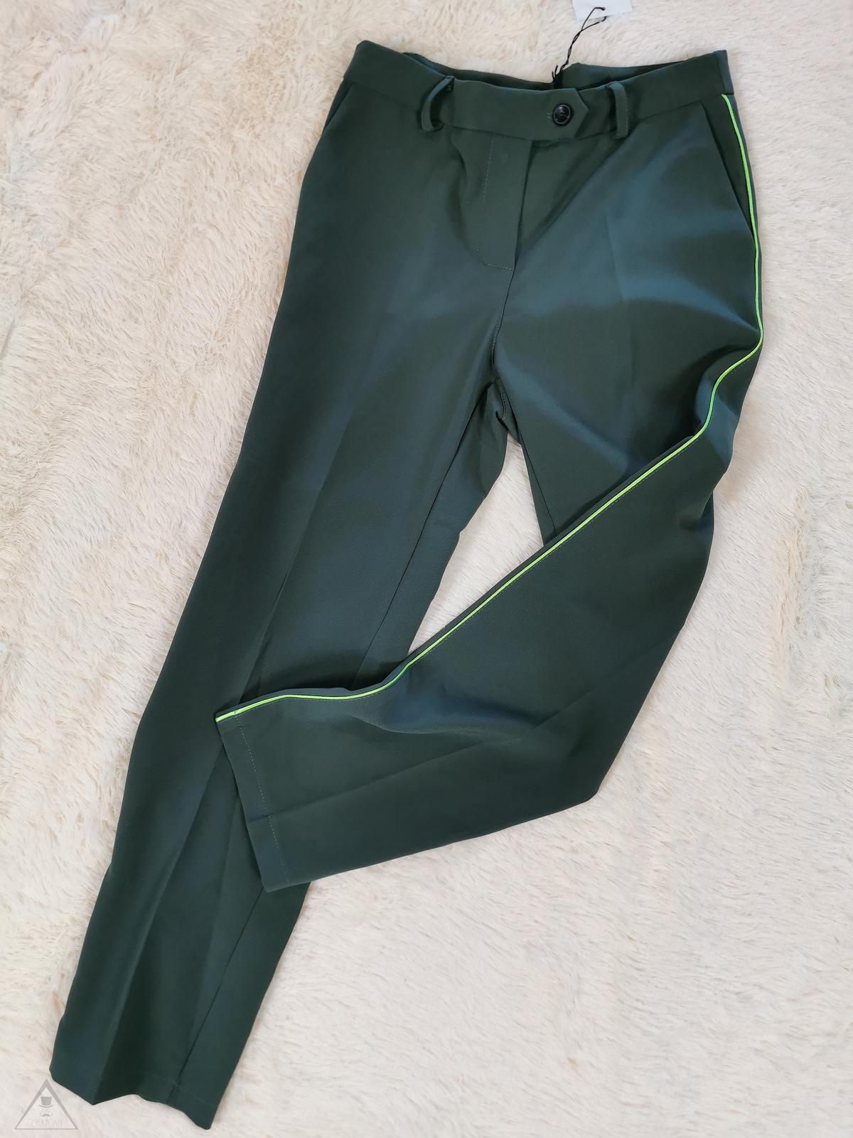 Pantalone Militare  bandina Fluo