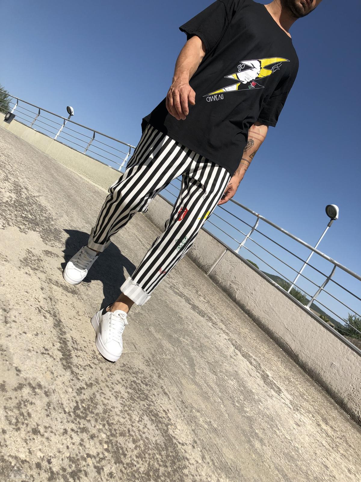Pantalone Millerighe Fulmine