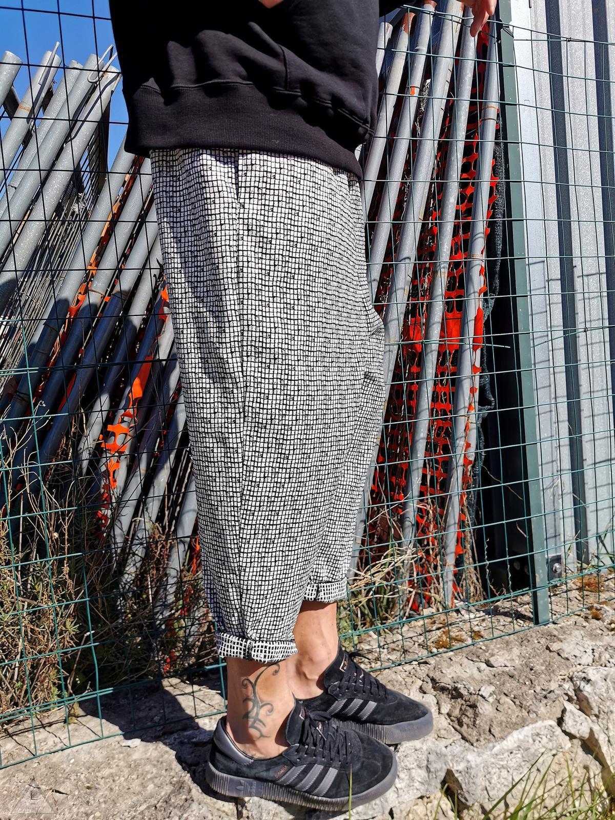 Pantalone Scavallato Pixel