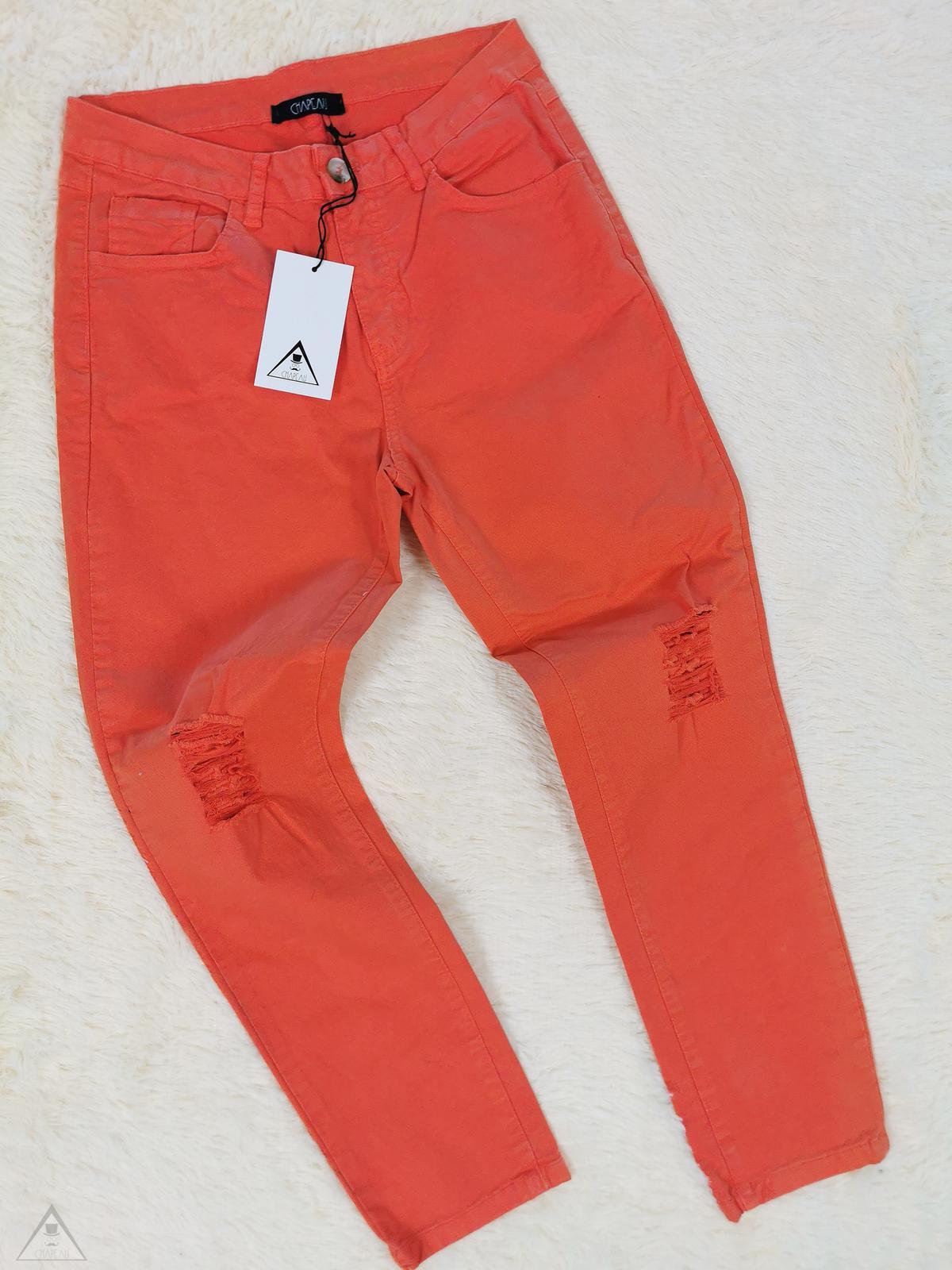 Pantalone skinny Destroyed