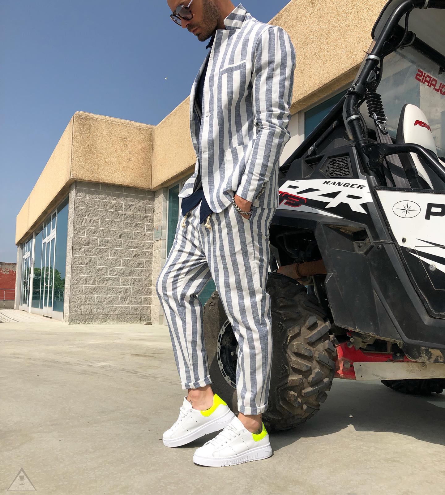 Sneakers Baffo Fluo