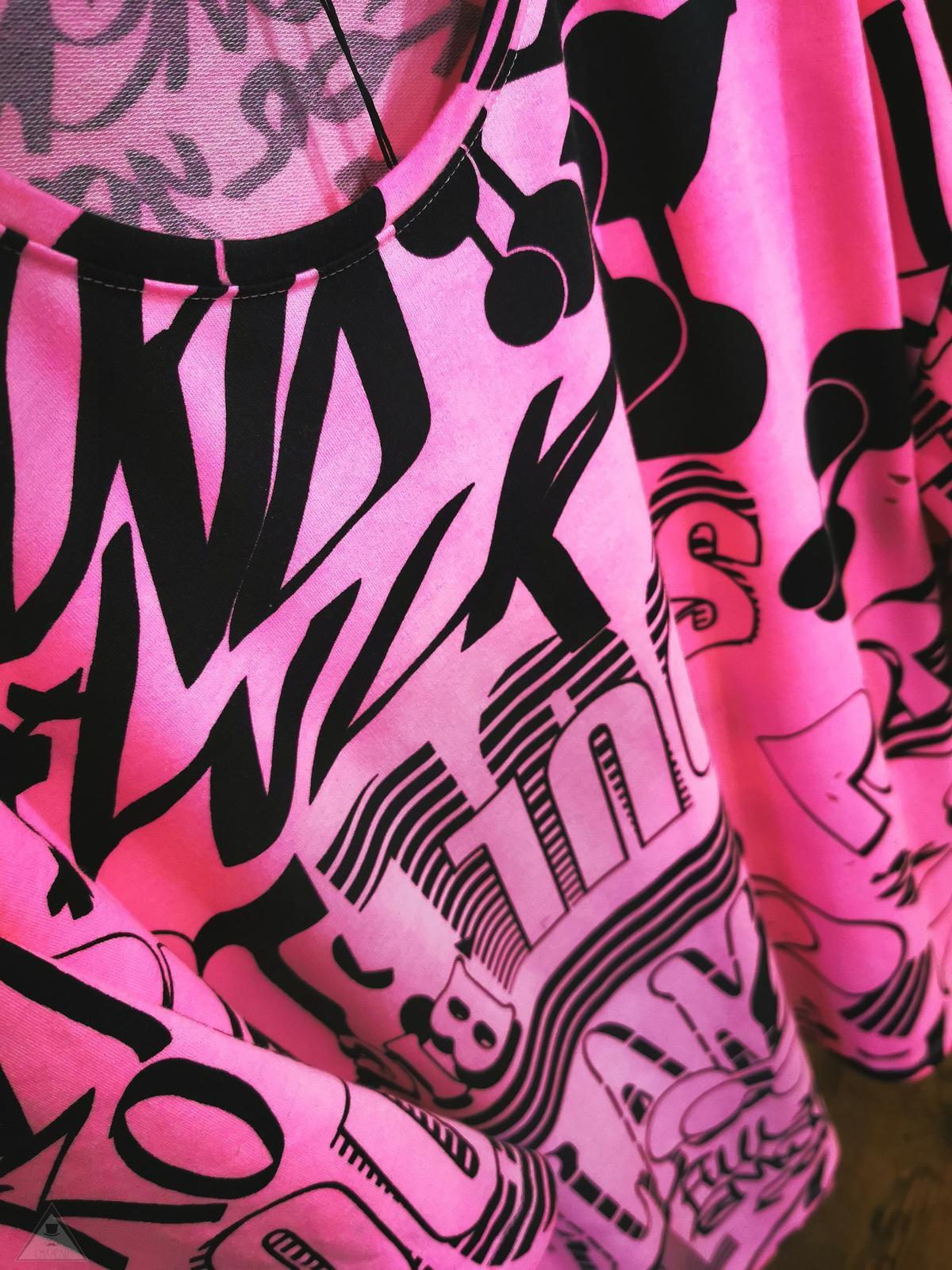 T-shirt Billie Eilish Fuxia