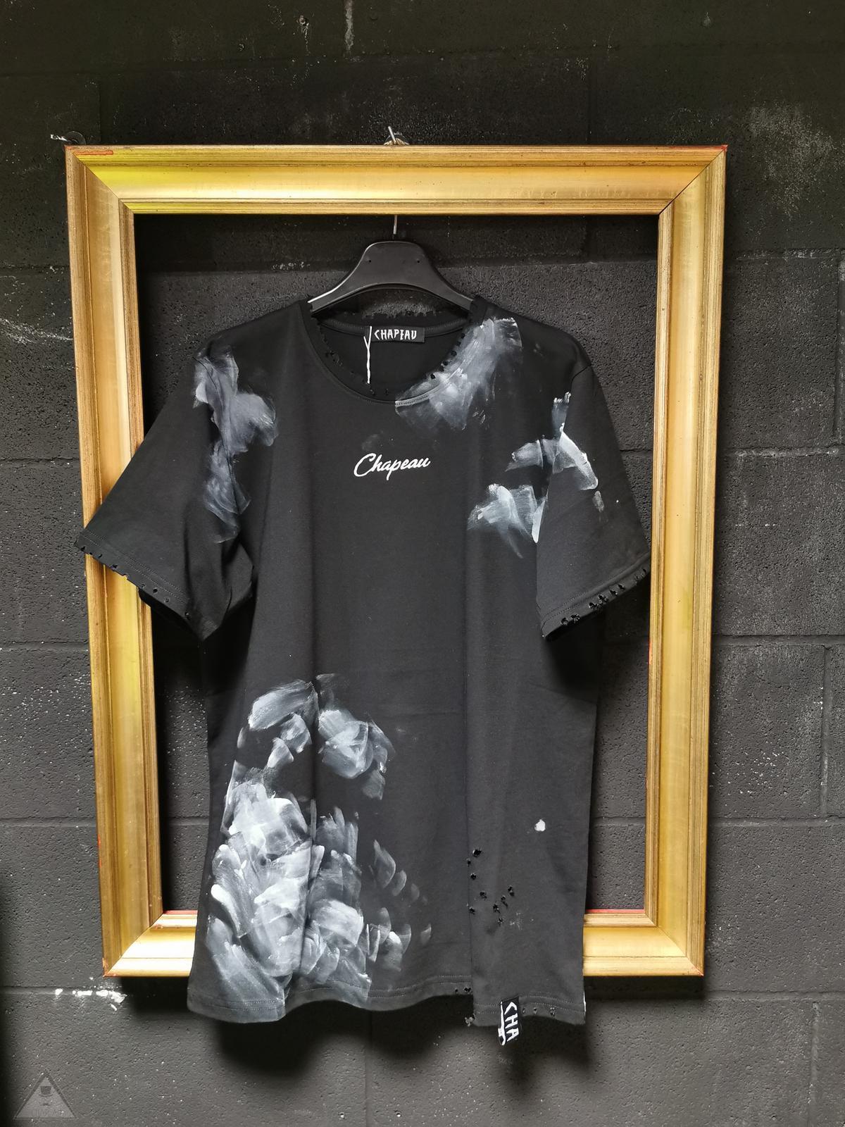 T-shirt Chp Black macchia