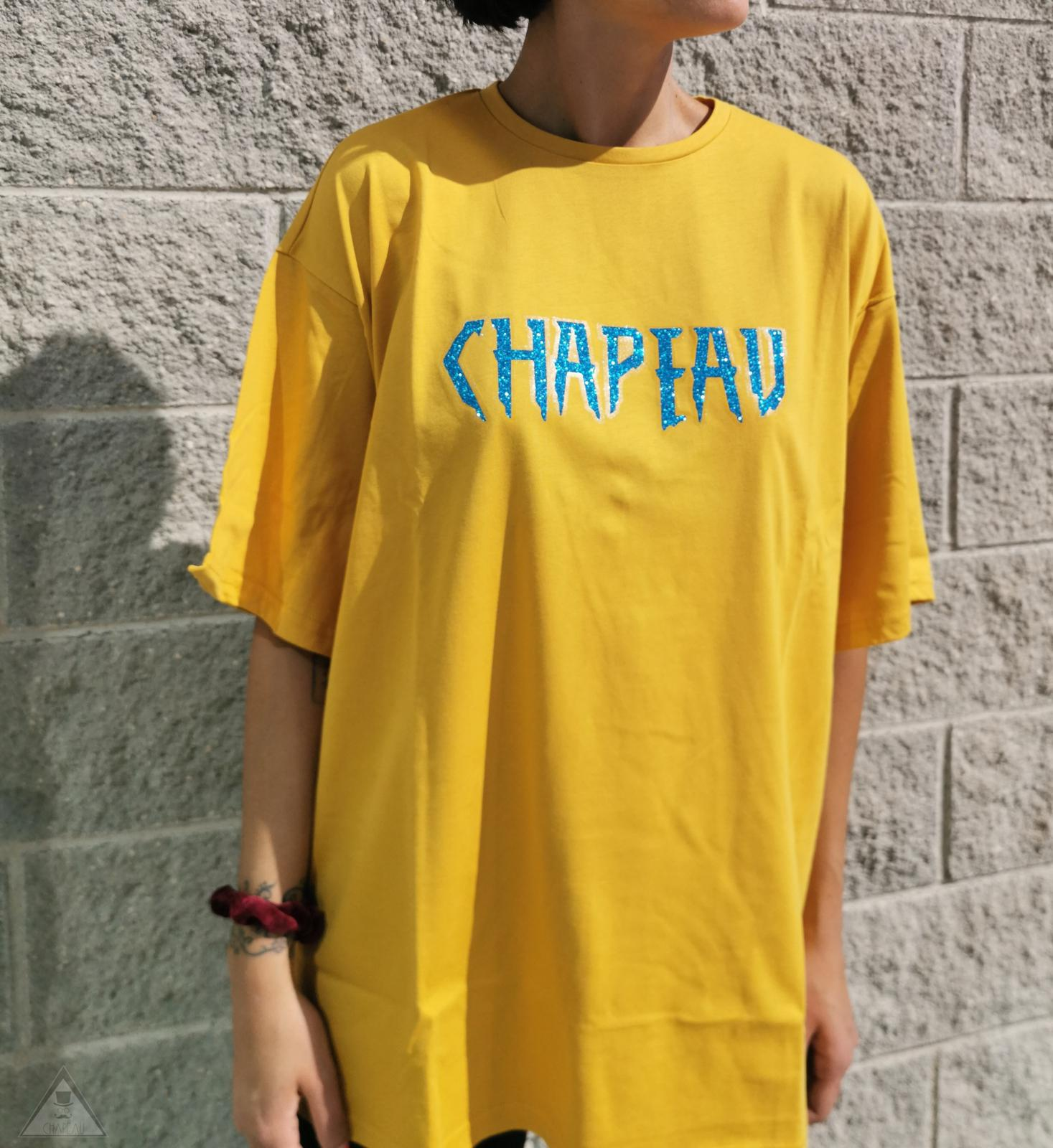 T-shirt Senape Gloss