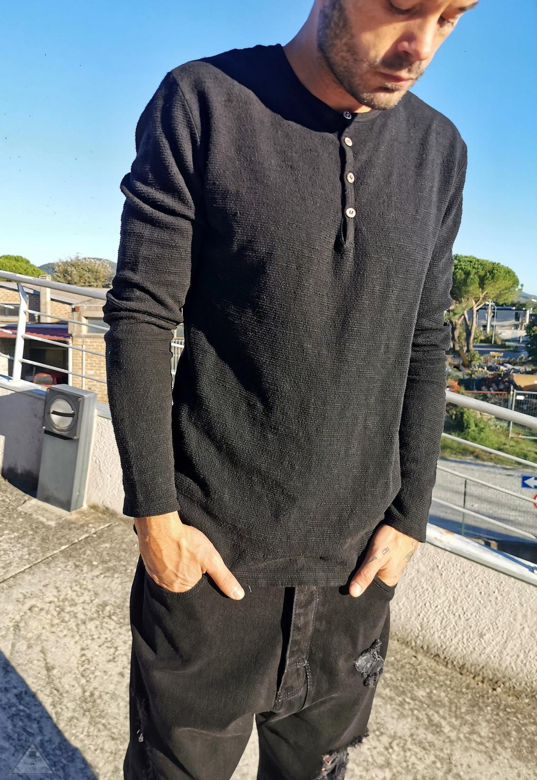 T-shirt Contrasti Black