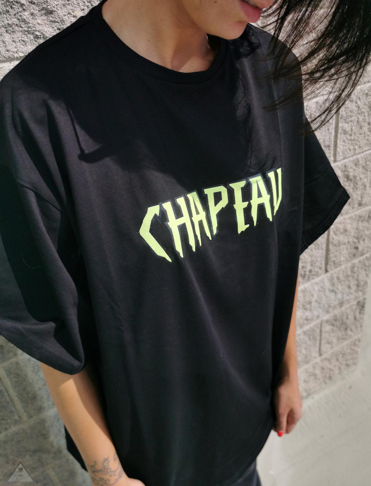 T-shirt Nera Gloss