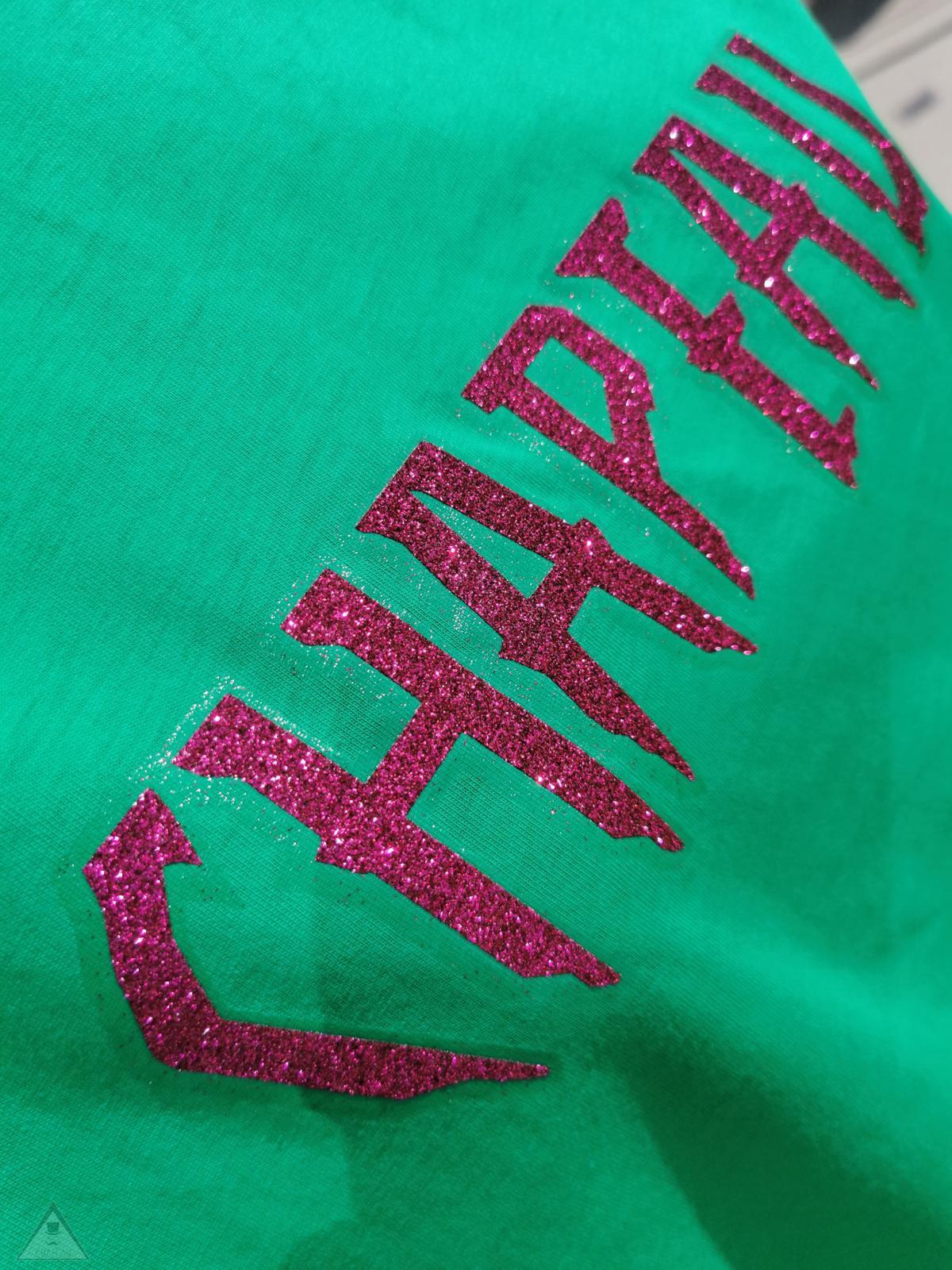 T-shirt Green Gloss