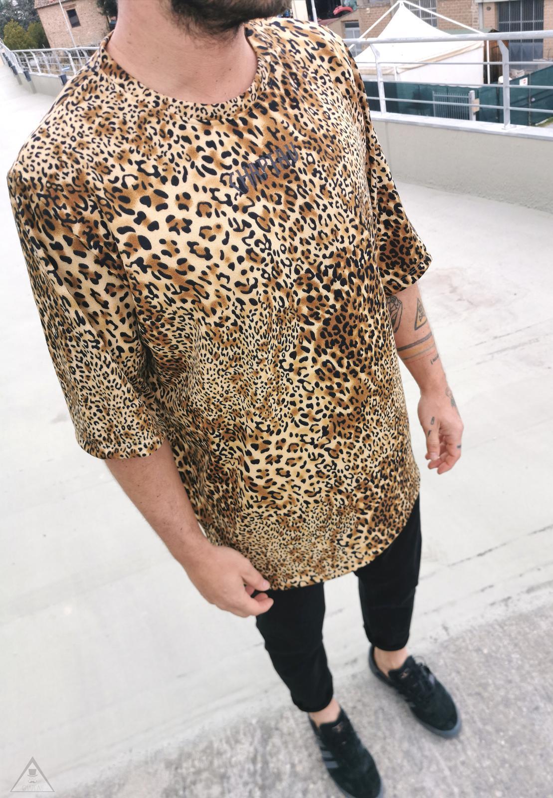 T-shirt Leopardata Safari