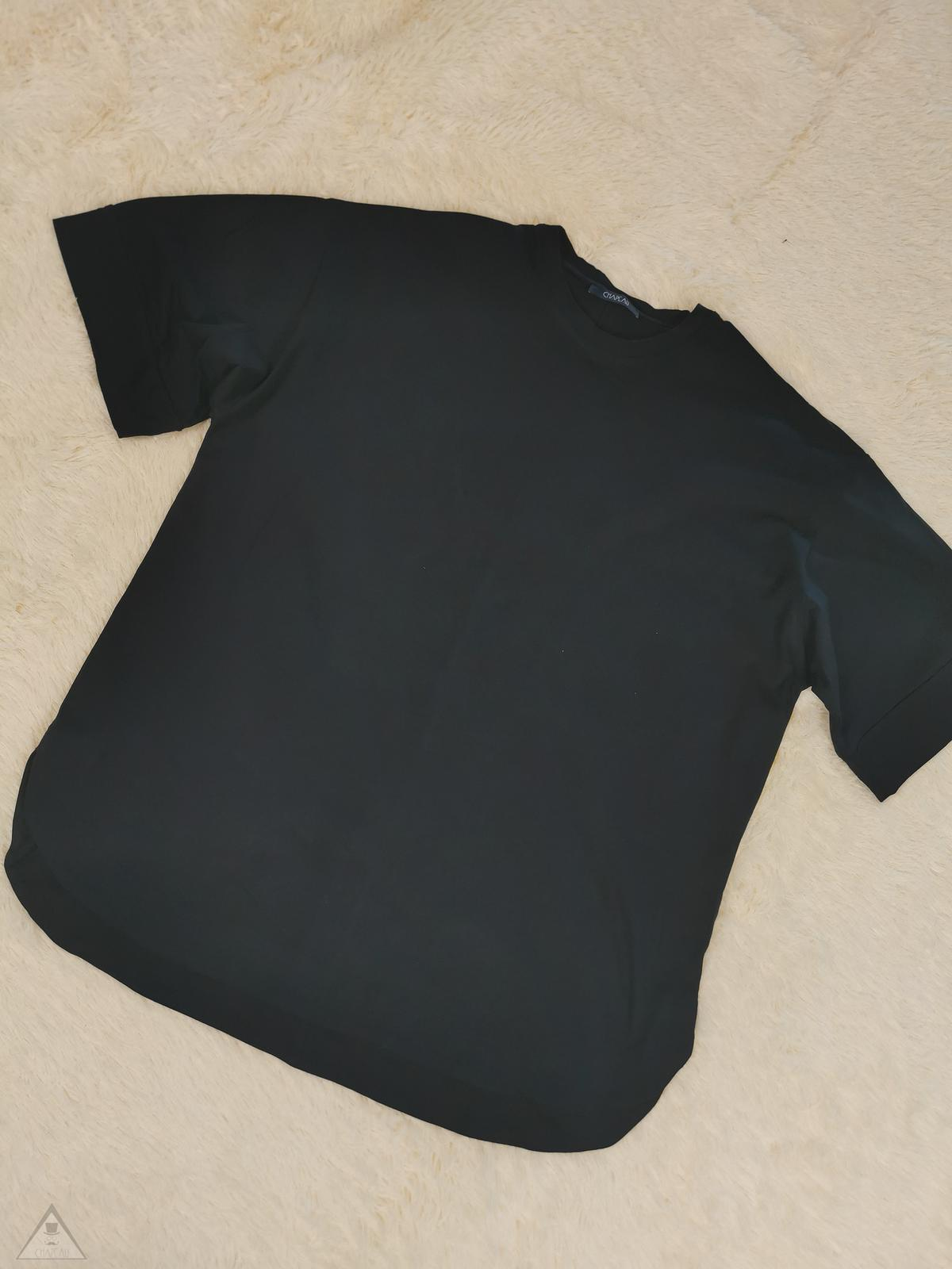 T-shirt over kimono