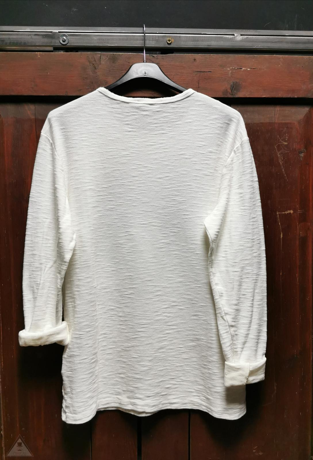 T-shirt Panna Contrasti