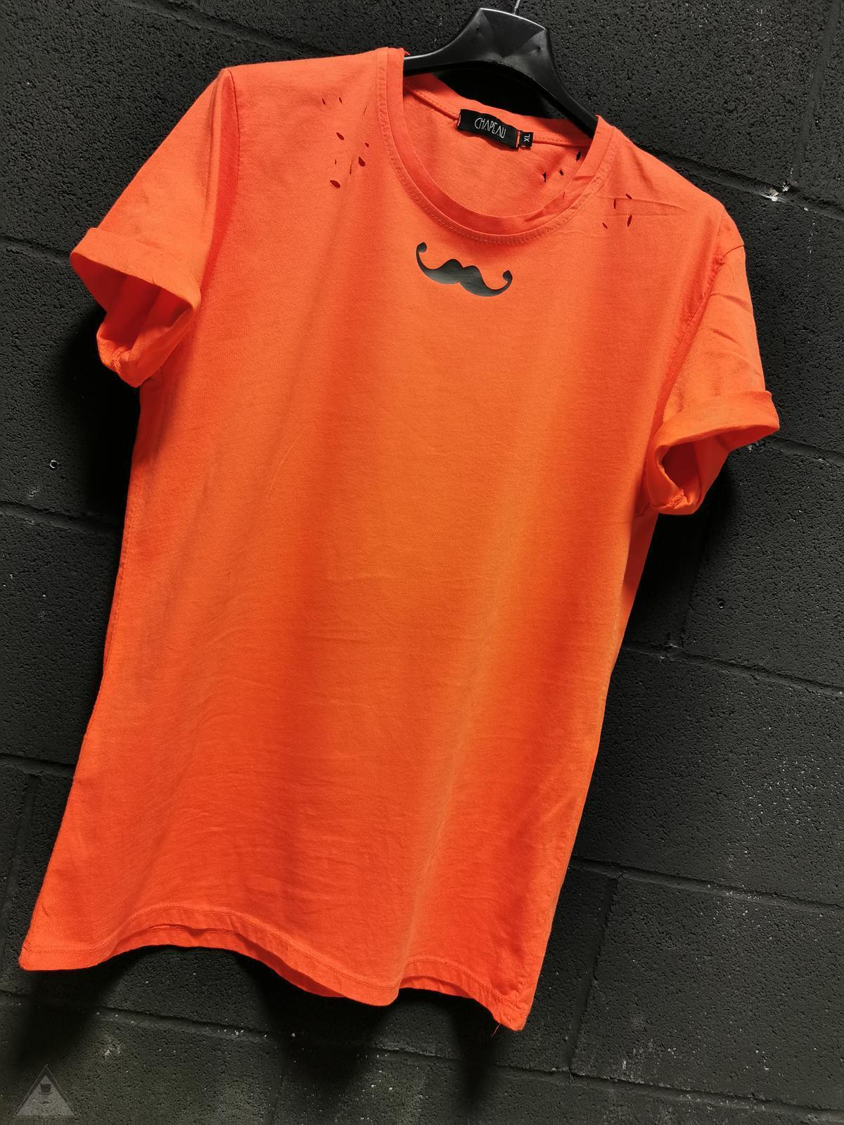 T-shirt Pergamena Arancio