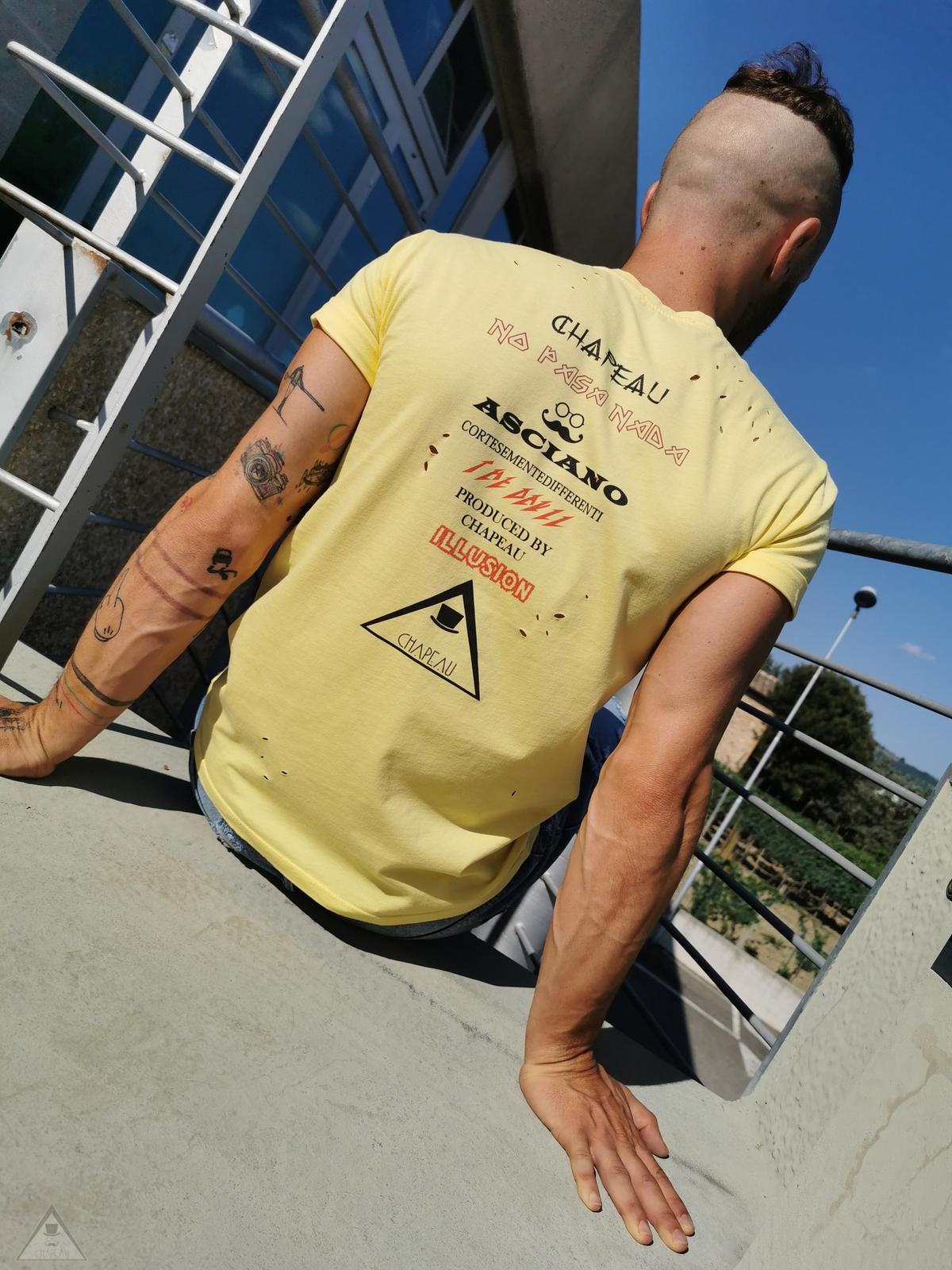 T-shirt Pergamena Limone