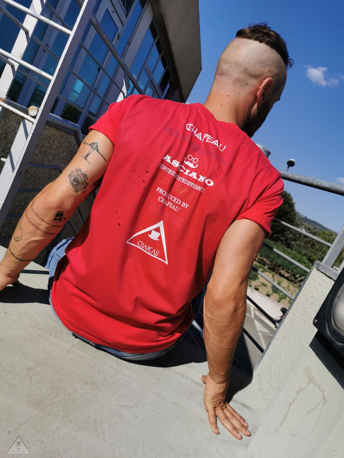 T-shirt Pergamena Fragola