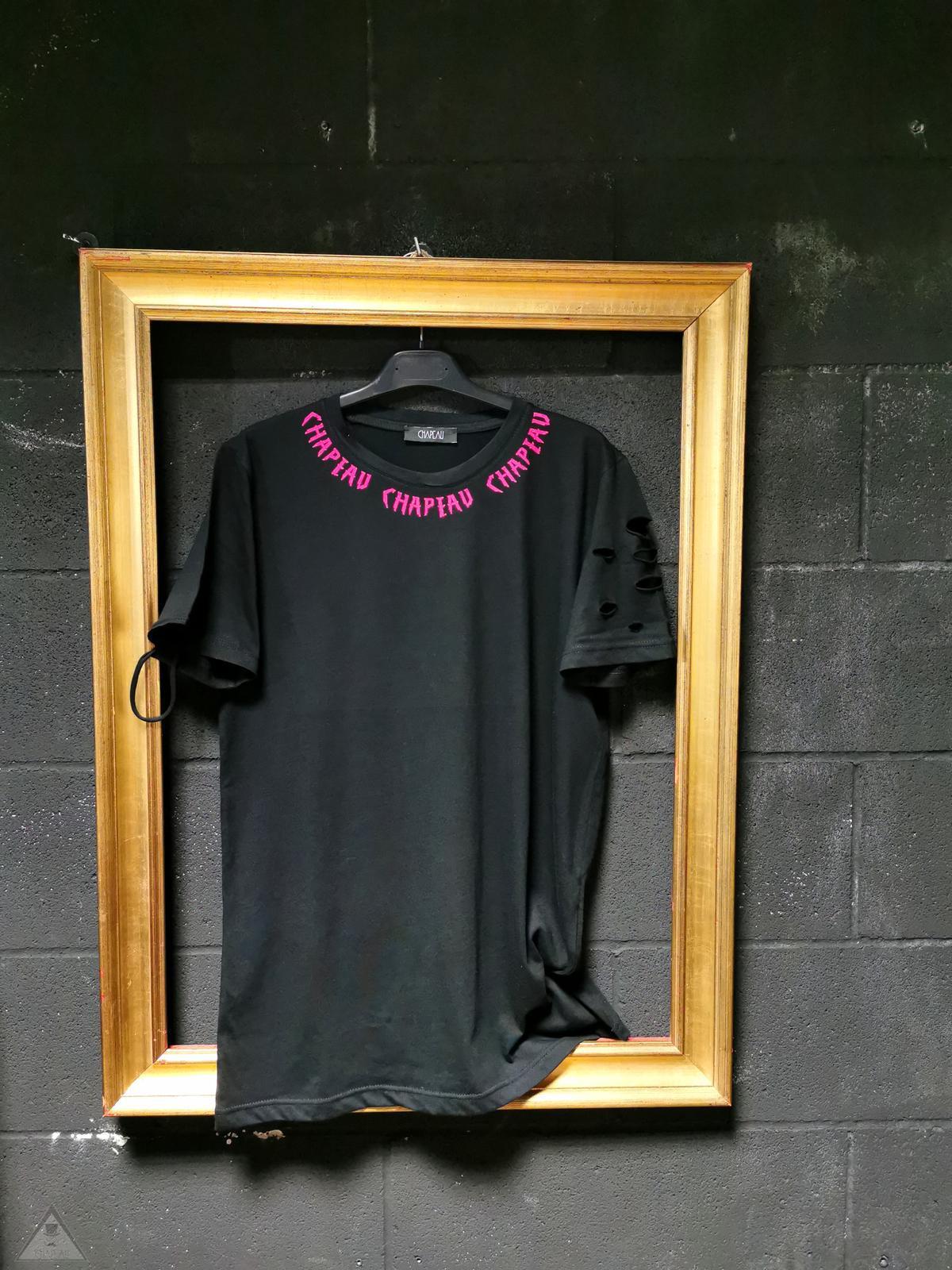 T-shirt Romantic Fuxia