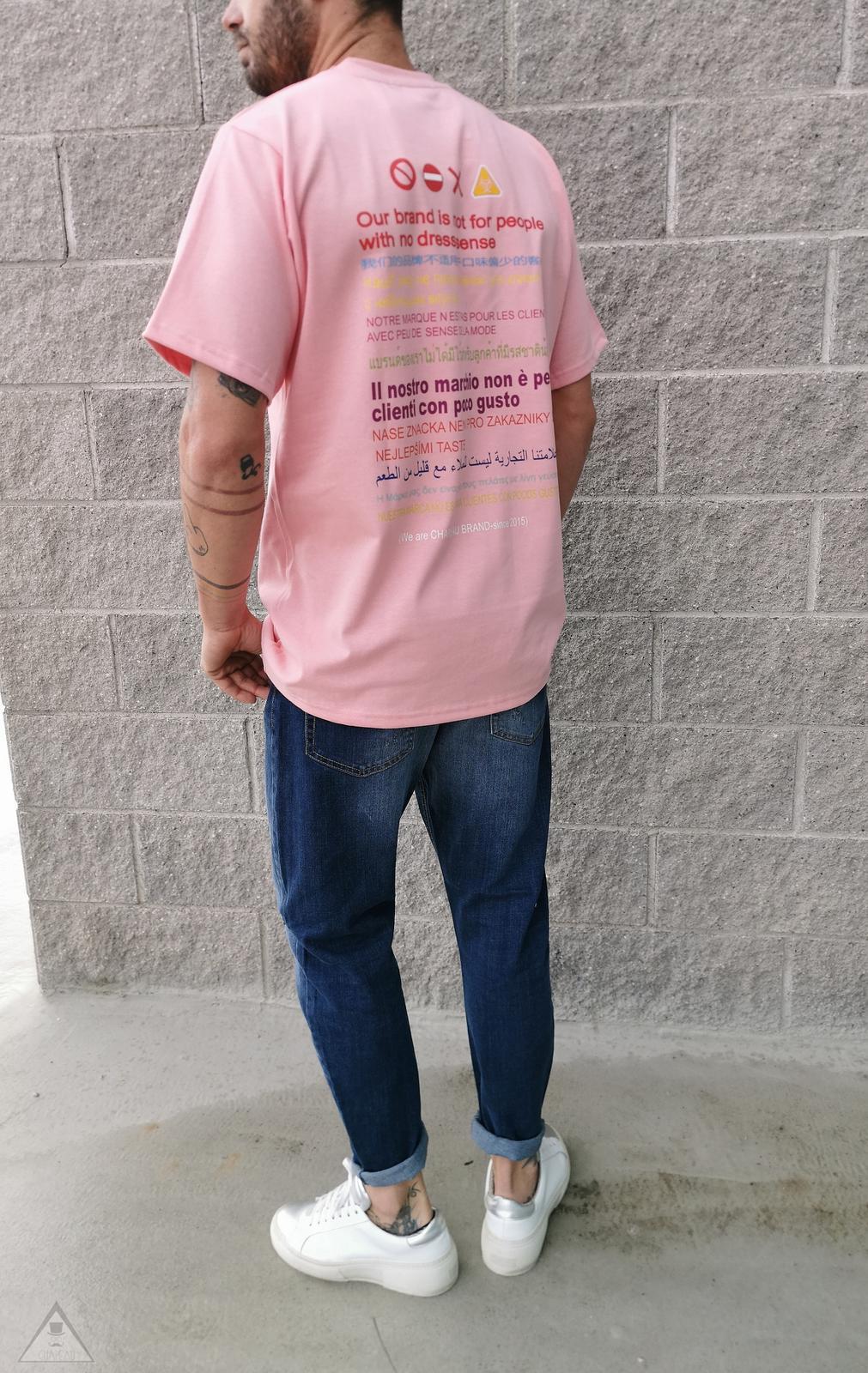 T-shirt  Rosa Gusto