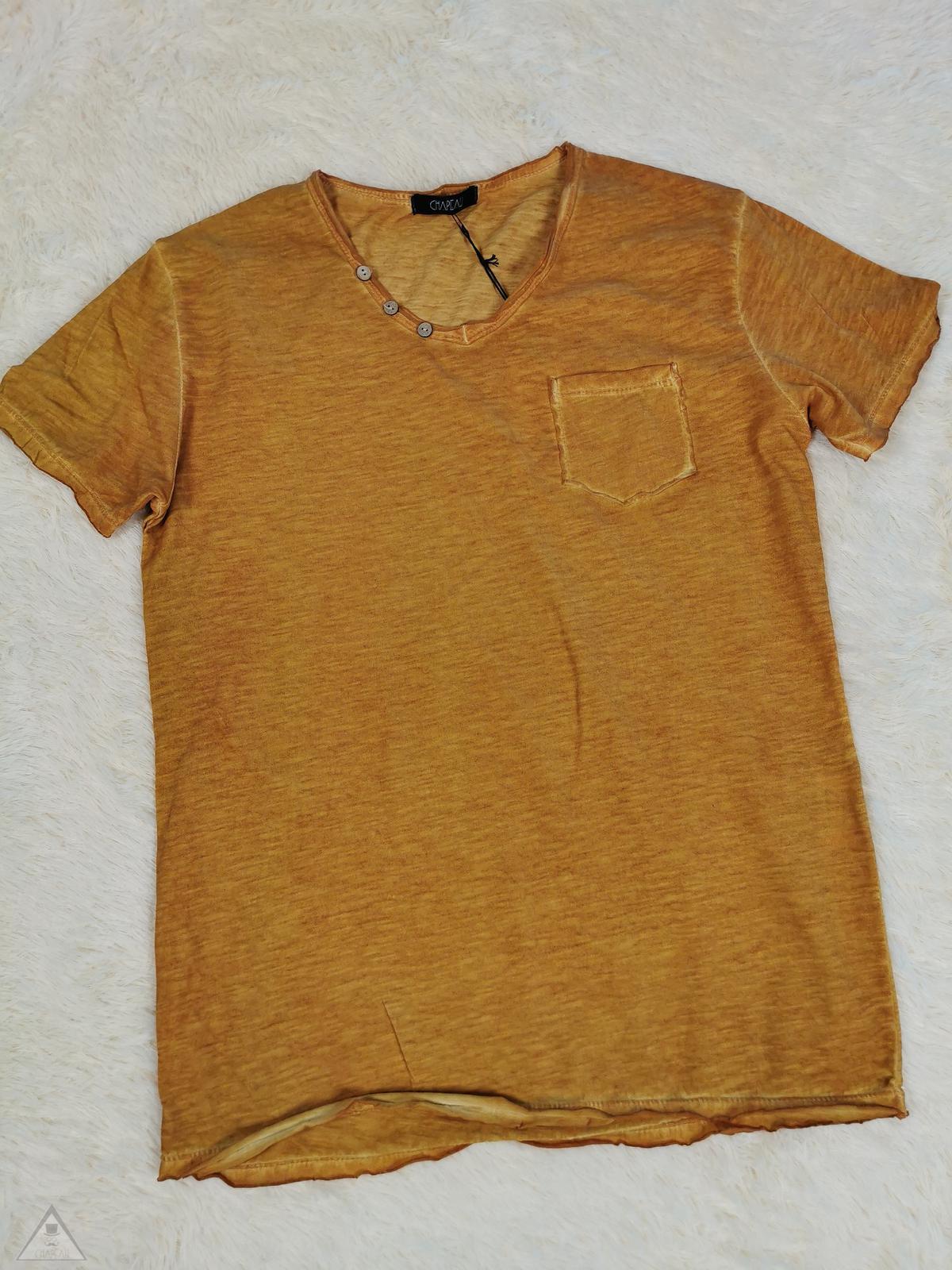 T-shirt senape V