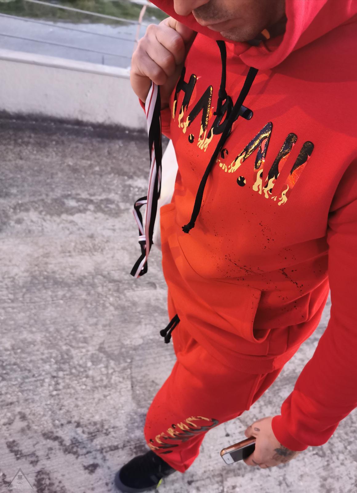 Tuta Red Fire